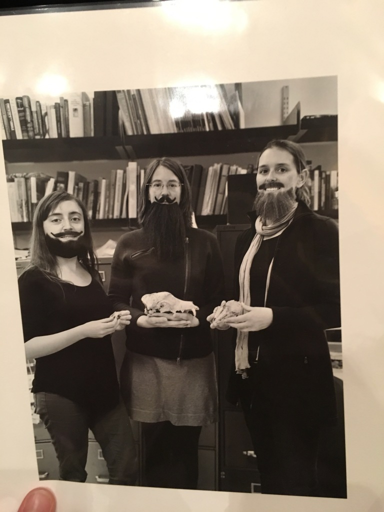 Barnosky Lab members participating in the Bearded Lady Project, 2015
