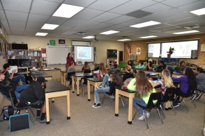 Science career day at Green River High